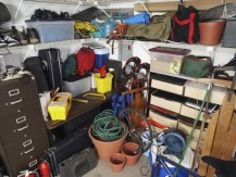 Mistake #1: Don't think you can get away with shoving everything that doesn't have a place into your garage.